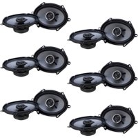 "Crunch 250W Full Range 2 Way Coaxial Car Audio 5x7 by 6x8"" Speaker (12 Pack)"