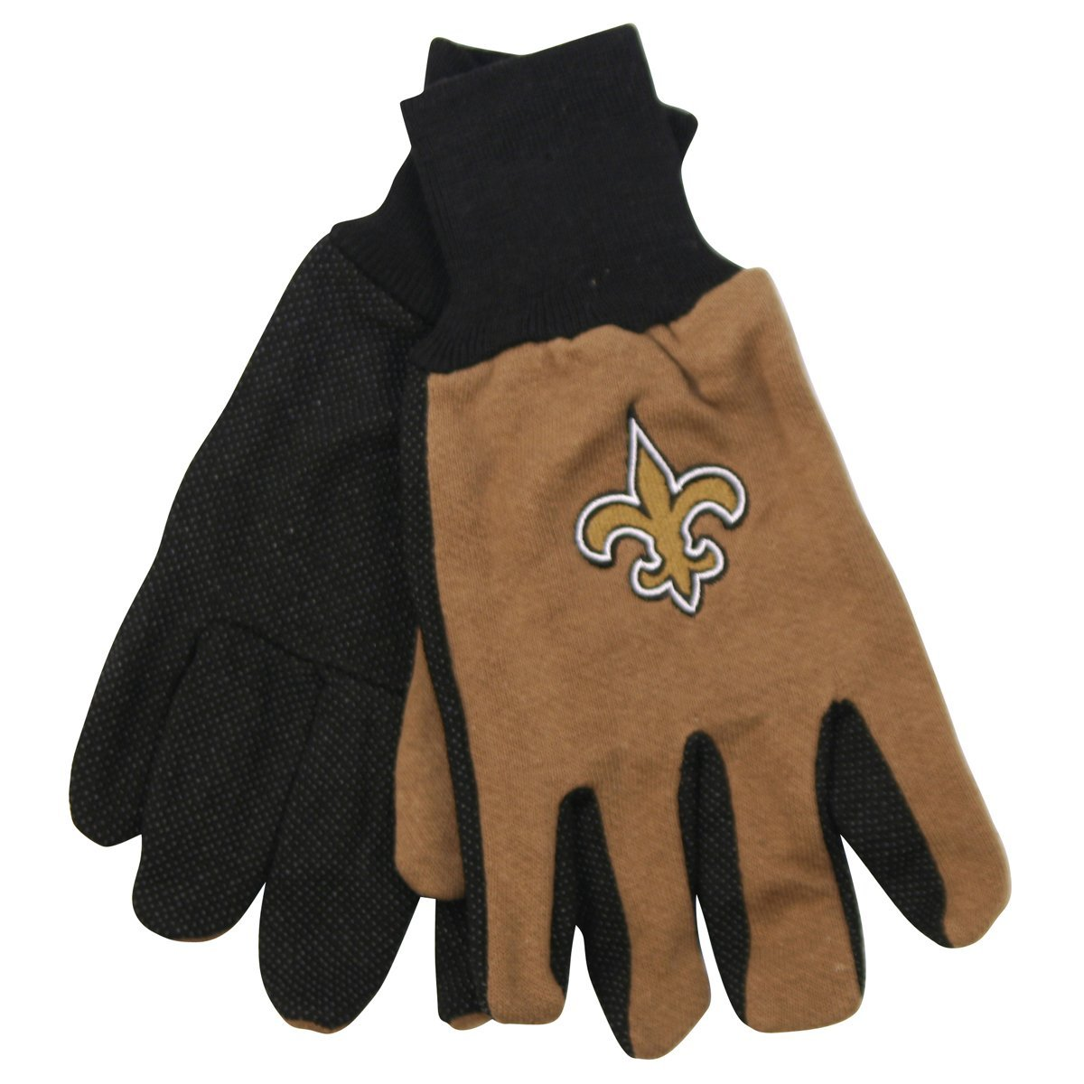 New Orleans Saints Two-Tone Gloves by McArthur