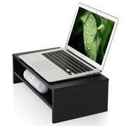 Fitueyes  Laptop Stand Computer monitor riser with keyboard Storage Space 16.7 inch 2 Tires DT204201WW