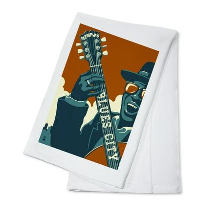 Memphis, Tennessee - Blues City - Lantern Press Artwork (100% Cotton Kitchen - Blues Kitchen Camden Halloween