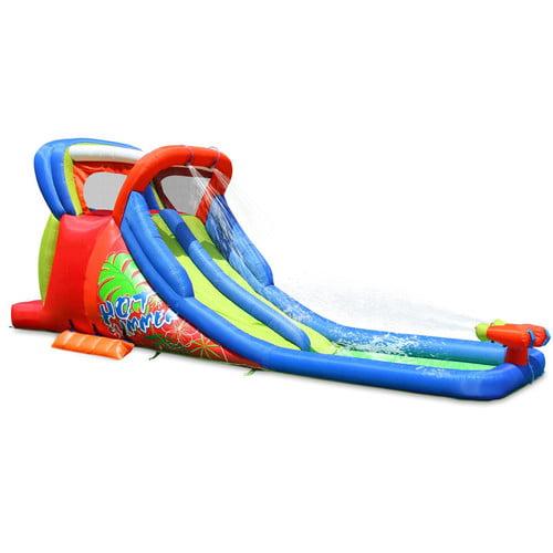 Kidwise Hot Summer Double Water Slide