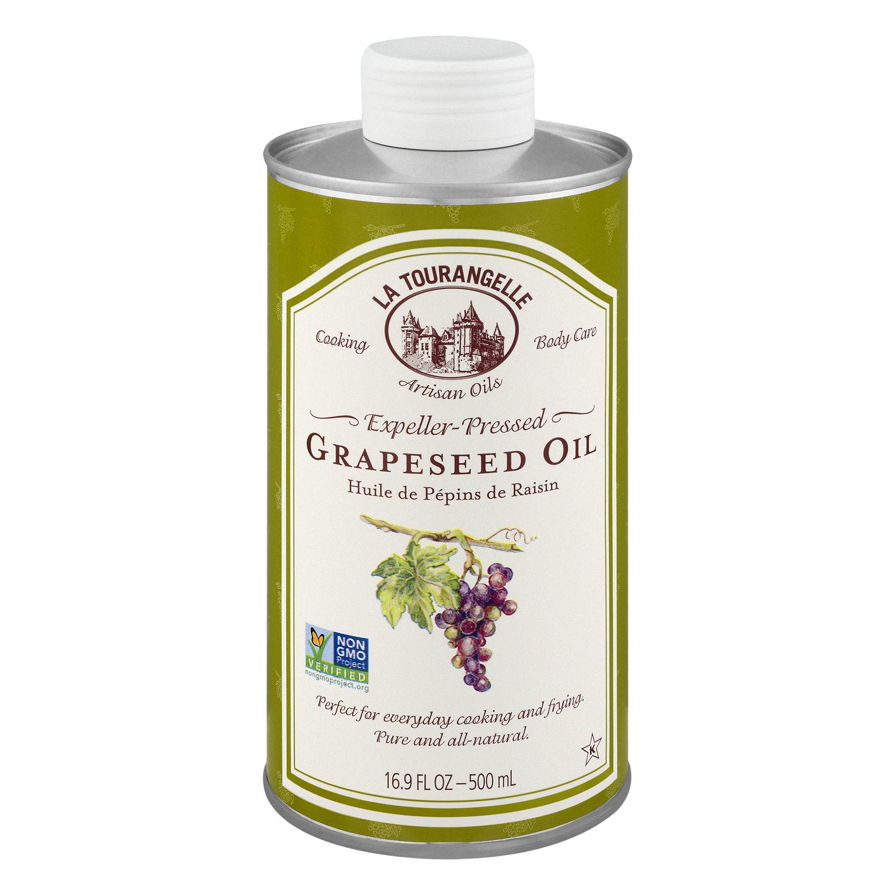 La Tourangelle, Expeller-Pressed Grapeseed Oil, 16.9 fl oz (500 ml)