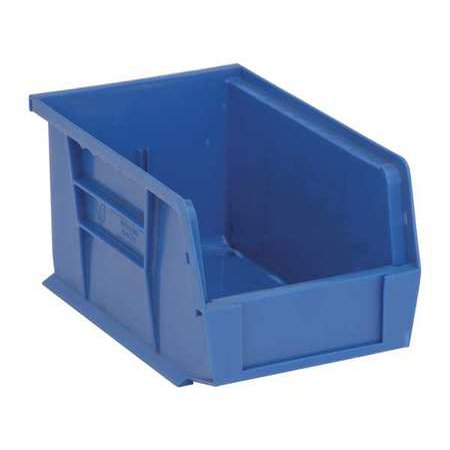 Quantum Storage Systems 50 lb Capacity, Hang and Stack Bin, Blue QUS221BL