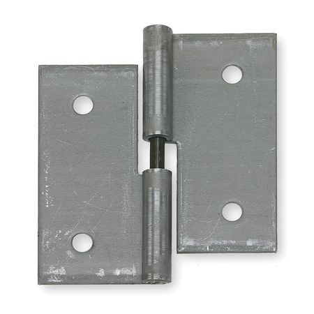 "Battalion 3HUG5 Natural Steel 1-11/16""W Lift-Off Hinge"