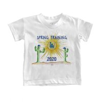 Los Angeles Dodgers Tiny Turnip Toddler 2020 Spring Training T-Shirt - White
