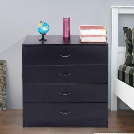 Ktaxon 4 Drawers Dresser Bedside Nightstand Cabinets Bedroom ...