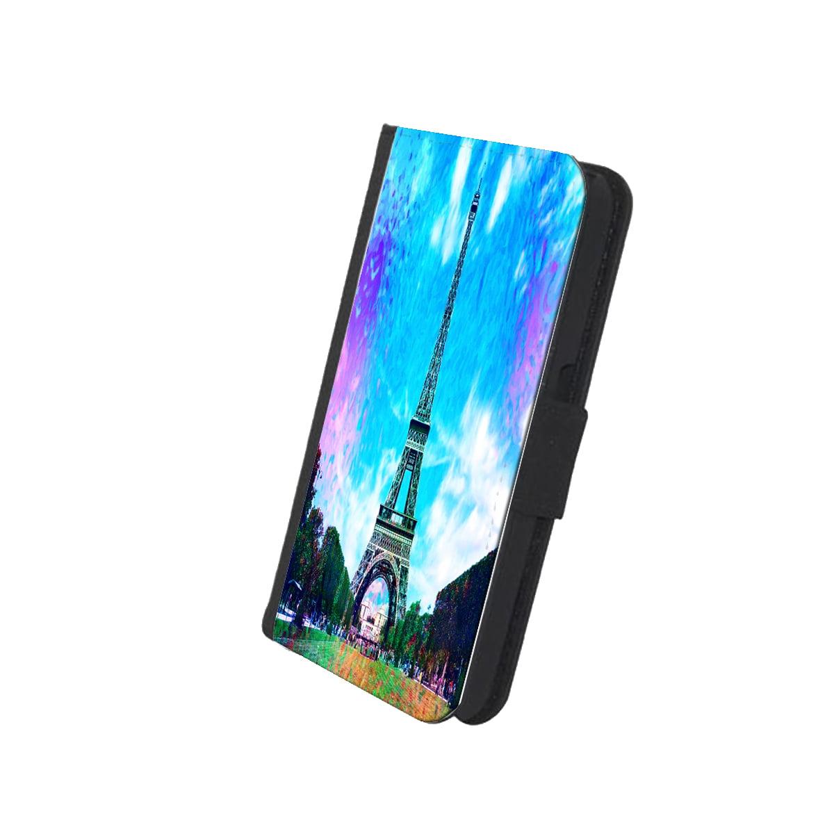 KuzmarK™ Samsung Galaxy S6 Wallet Case - Eiffel Tower France