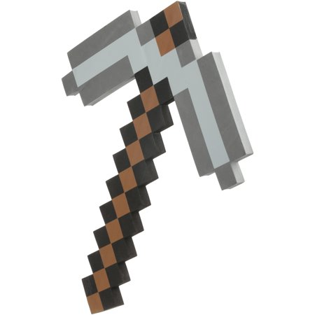 Minecraft Foam Iron Pickaxe](Minecraft Halloween Ideas)