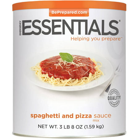 Emergency Essentials Food Spaghetti   Pizza Sauce Mix  56 Oz
