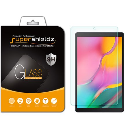 [1-Pack] Supershieldz for Samsung Galaxy Tab A 10.1 (2019) [SM-T510 Model Only] Tempered Glass Screen Protector, Anti-Scratch, Anti-Fingerprint, Bubble