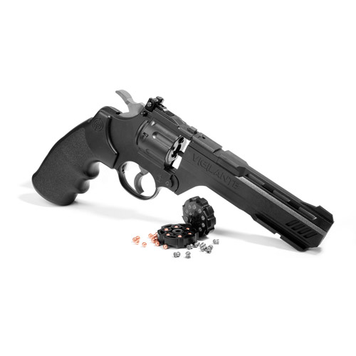 Crosman CCP8B2 Vigilante 3576W CO2 .177-Caliber Pellet and BB Revolver CCP8B2 by Crosman