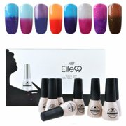 te99 8pcs Color-Chaning Gel Nail Polish Starter Kit Xmas Gift Manicure Art - Best Reviews Guide