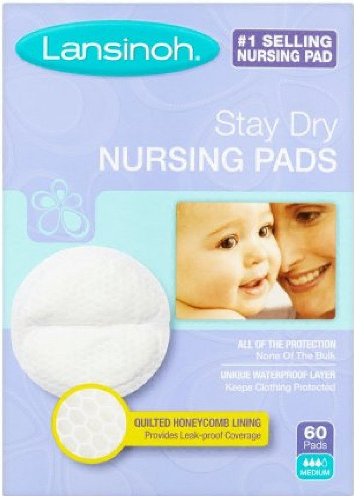 Click here to buy 4 Pack Lansinoh Nursing Pads Stay Dry 60 Each by Lansinoh.