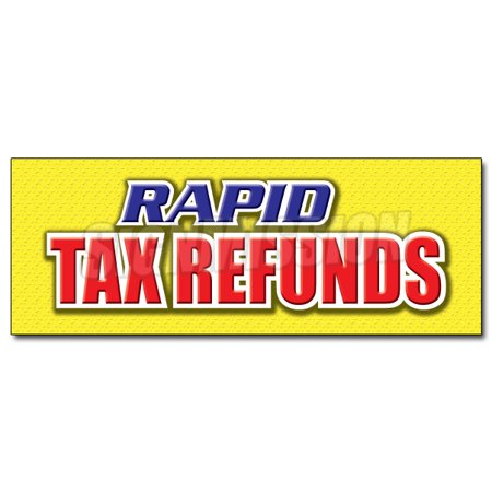 12  Rapid Tax Refunds Decal Sticker Taxes Refund Check Fast Cash Taxes Irs W2