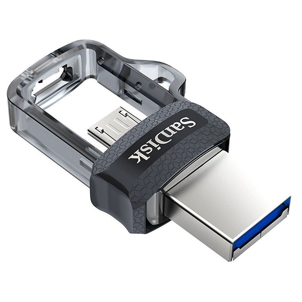 Sandisk SDDD3-064G-A46 Ultra Dual Flash Drive 64gb Usb 3.0 Am