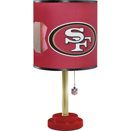 NFL Kids Table Lamp with Bulb by Idea Nuova - Die Cut, San Diego Chargers