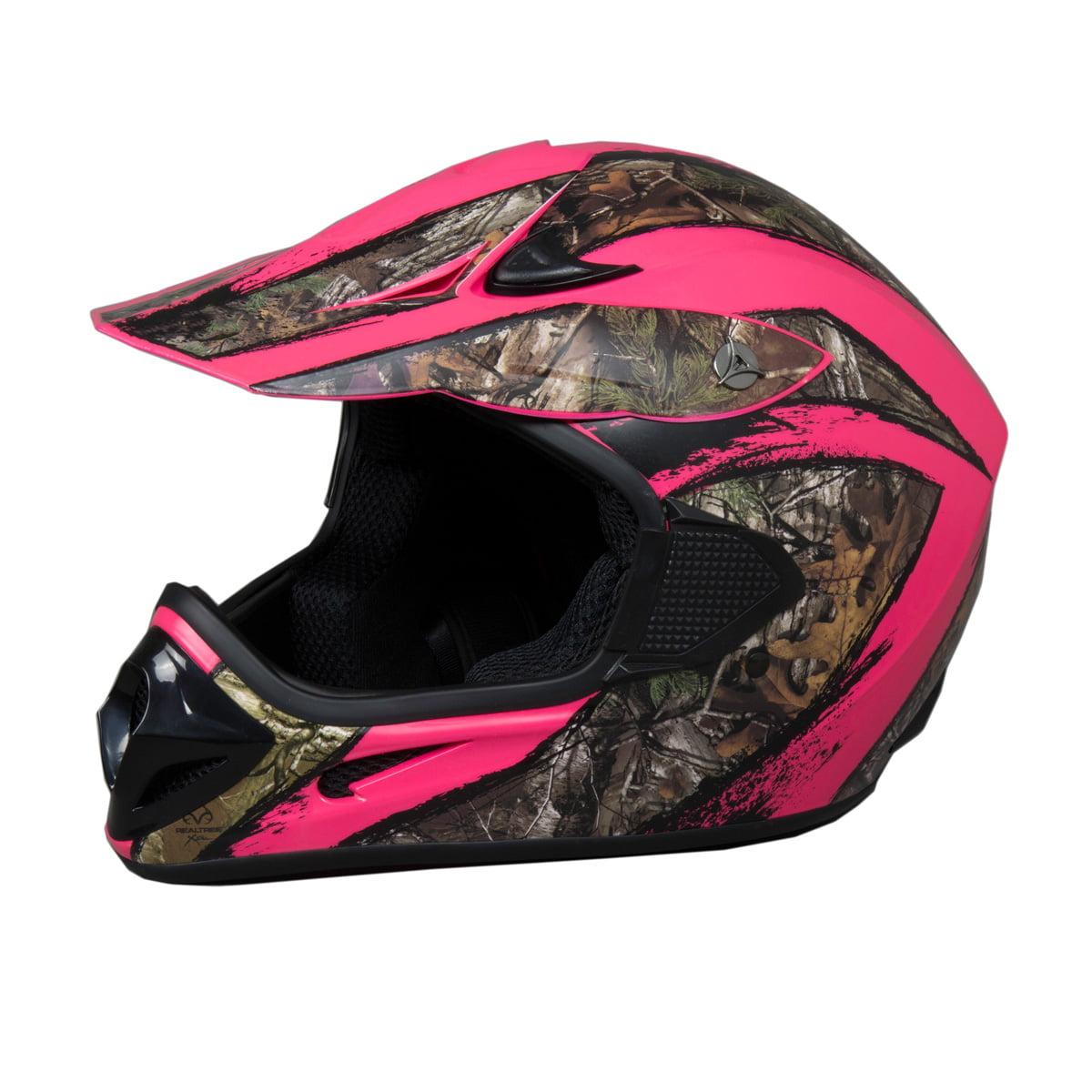 FUEL Adult MX / ATV Helmet Realtree Xtra Camo - DOT Appro...