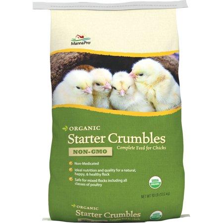 Organic Starter 19  Crumbles