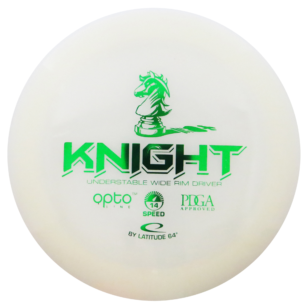 Latitude 64 Opto Knight 170-172g Distance Driver Golf Disc [Colors may vary] 170-172g by Dynamic Discs