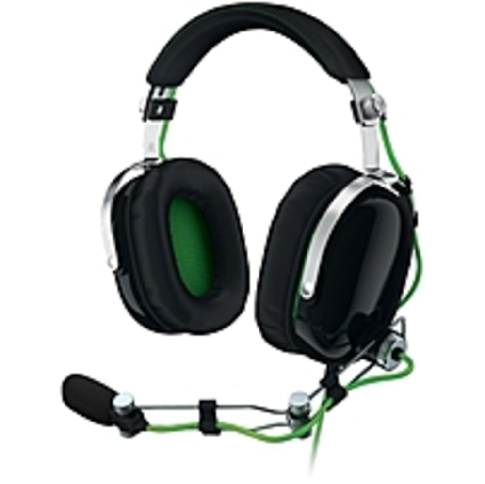 Razer BlackShark - Analog Gaming Headset - Stereo - Green, Black (Refurbished)