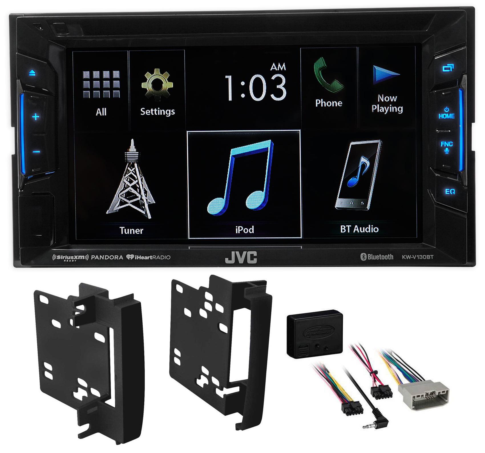 2007-2011 Dodge Nitro JVC DVD/CD Player Monitor w/Bluetoo...