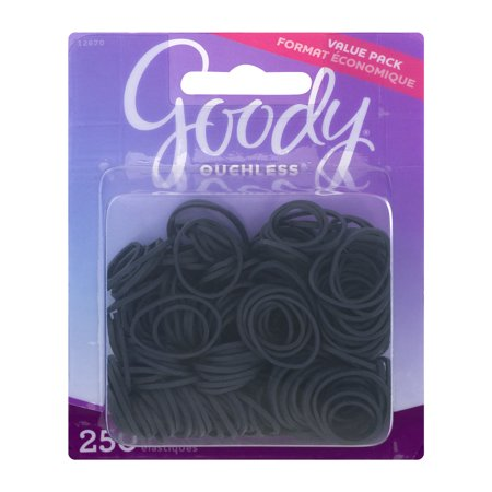 Goody Ouchless Elastics   250 Ct