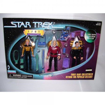 - Star Trek 1701 Collector Series Picard Barclay Yar Figure Set