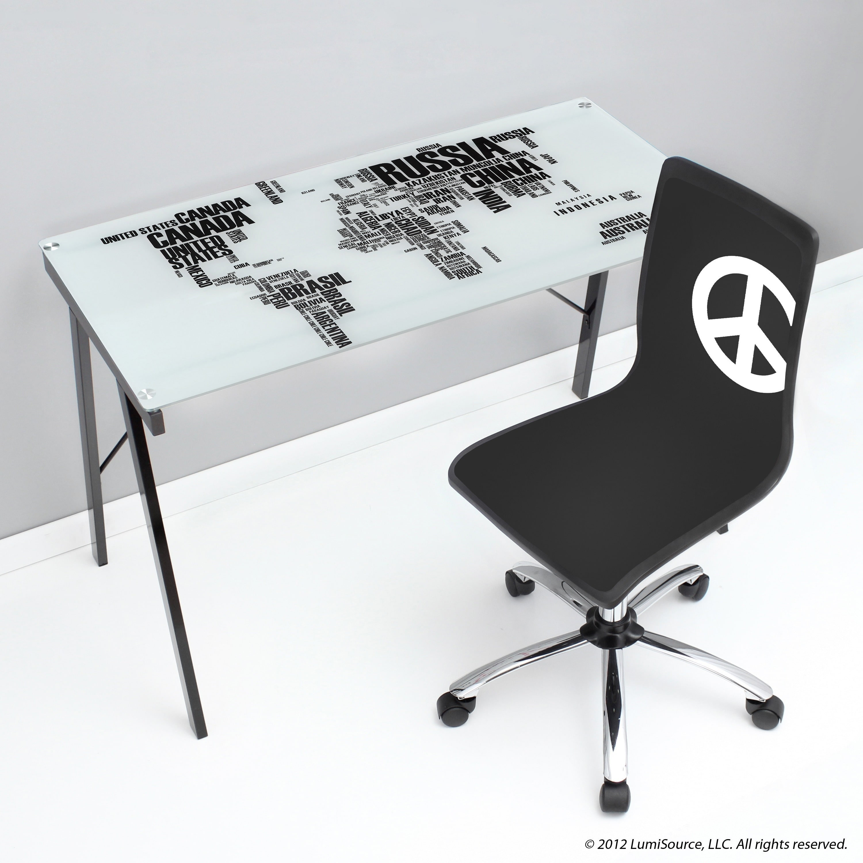 Lumisource world map office desk drafting table walmart gumiabroncs Images