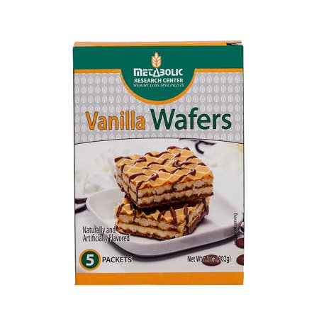 Iss Protein Wafer (Metabolic Research Center Vanilla Protein Wafers, 5)
