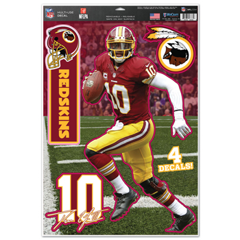 "Washington Redskins Robert Griffin 11""x17"" Multi-use Decal S"