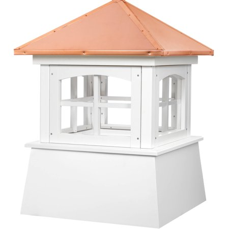 - Good Directions Huntington Vinyl Cupola with Copper Roof - 18