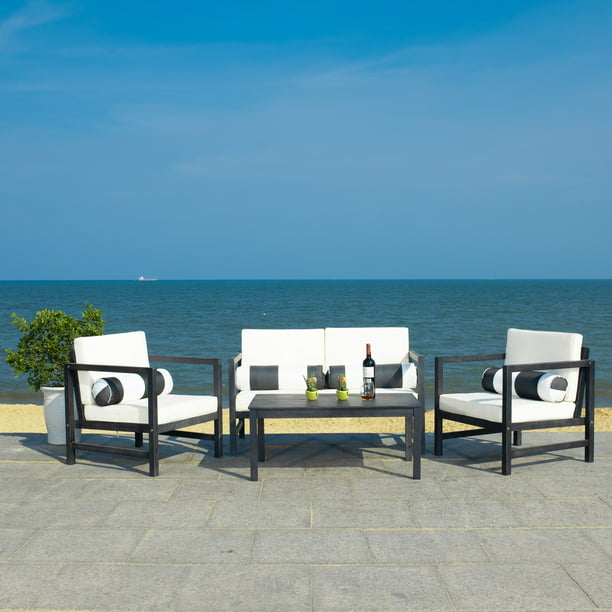 Safavieh Outdoor Living Montez 4 Piece Set With Accent ... on Safavieh Outdoor Living Montez 4 Piece Set id=71179