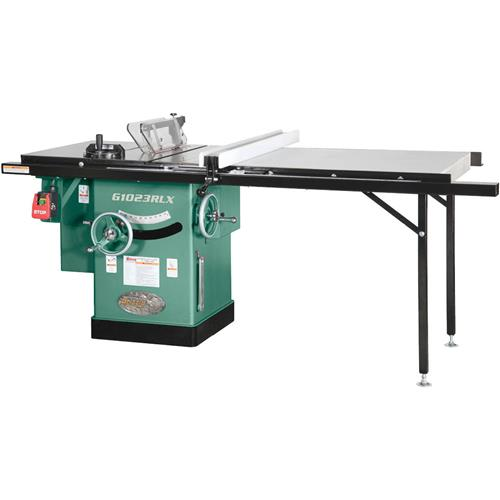 Grizzly G1023Rlx 10-Inch 3 Hp 240V Cabinet Left-Tilting Table Saw With Extension Table
