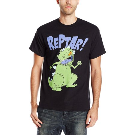 a4582c78f Movies & TV - Rugrats Reptar Graphic T-Shirt | L - Walmart.com