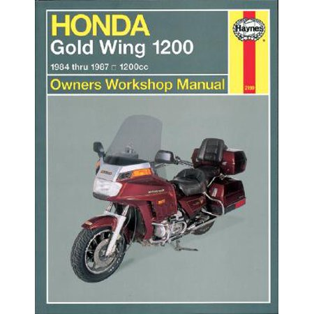 Honda Gold Wing 1200 Owners Workshop Manual : 1984-1987, 1200cc