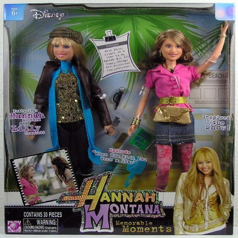 Jakks Hannah Montana Memorable Moments Hannah & Lilly Dol...