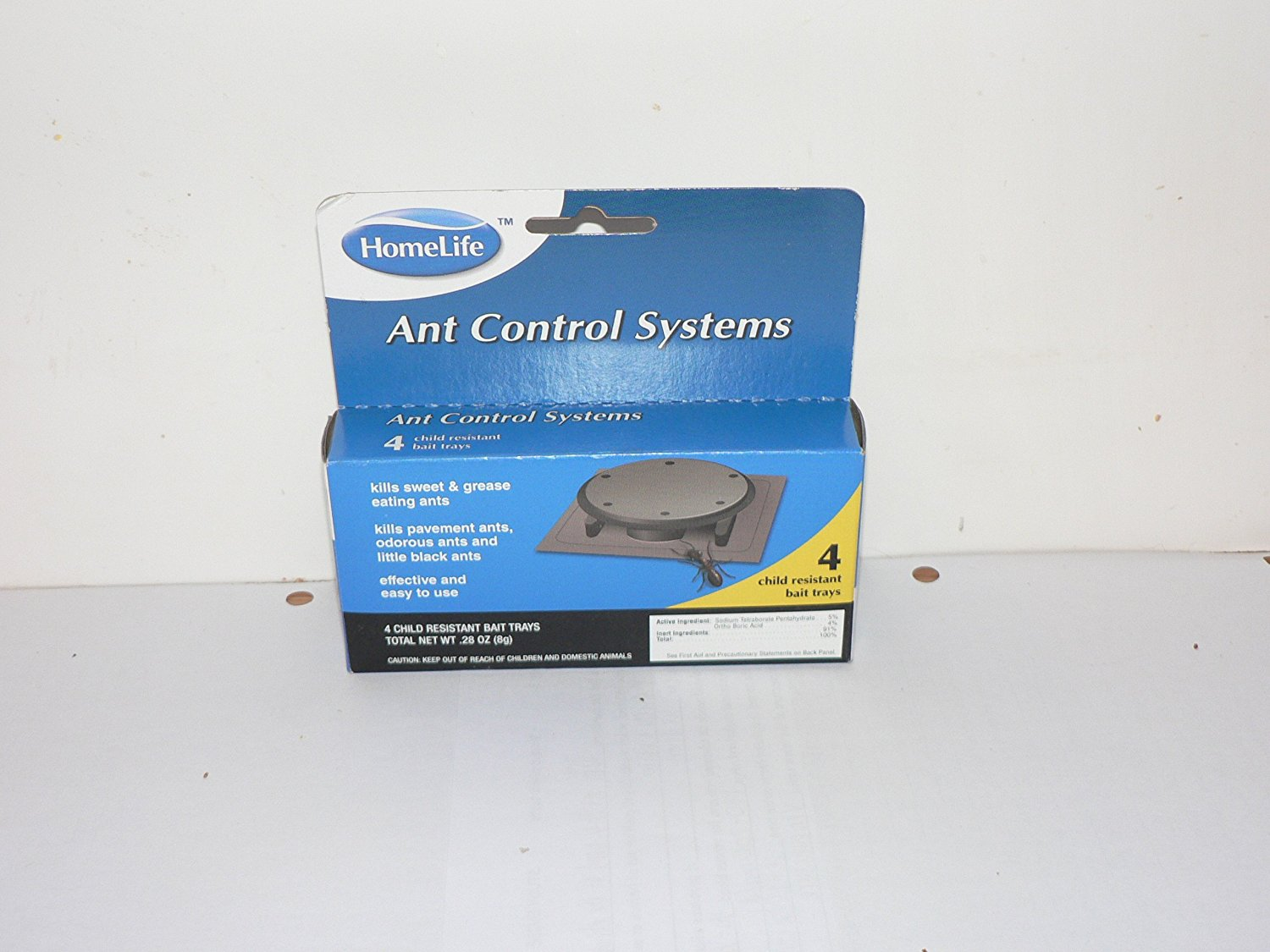 Ant Control Home Life Ant Control Systems 4 Bait Trays Child ...