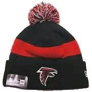 Atlanta Falcons Cuffed Pom Knit Beanie Hat Cap by