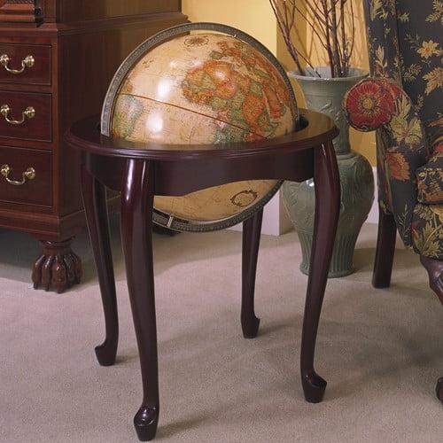 Replogle Globes Queen Anne Antique World Globe