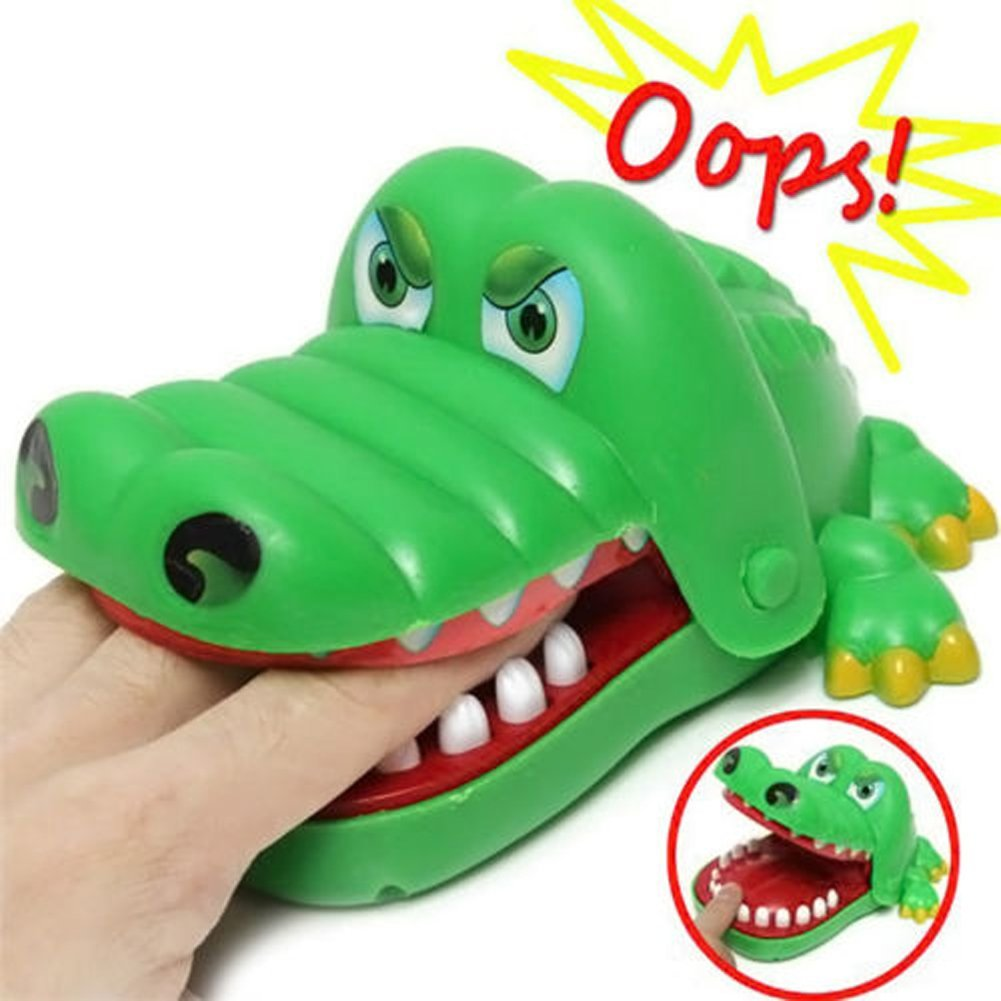 Crocodile Dentist, Crocodile Biting Finger Game Funny Toy Gift Funny Toys For Kids, 1 To 4 Players, Ages 4 And Up