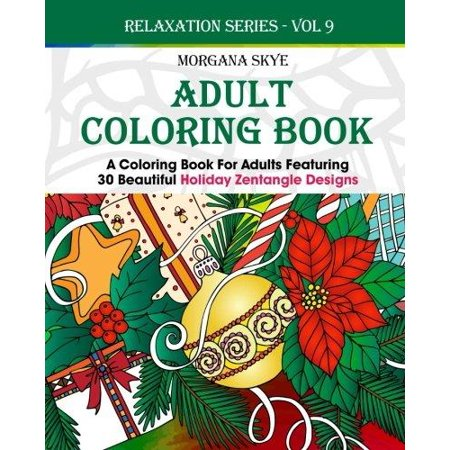 Adult Coloring Book Coloring Book For Adults Featuring 30