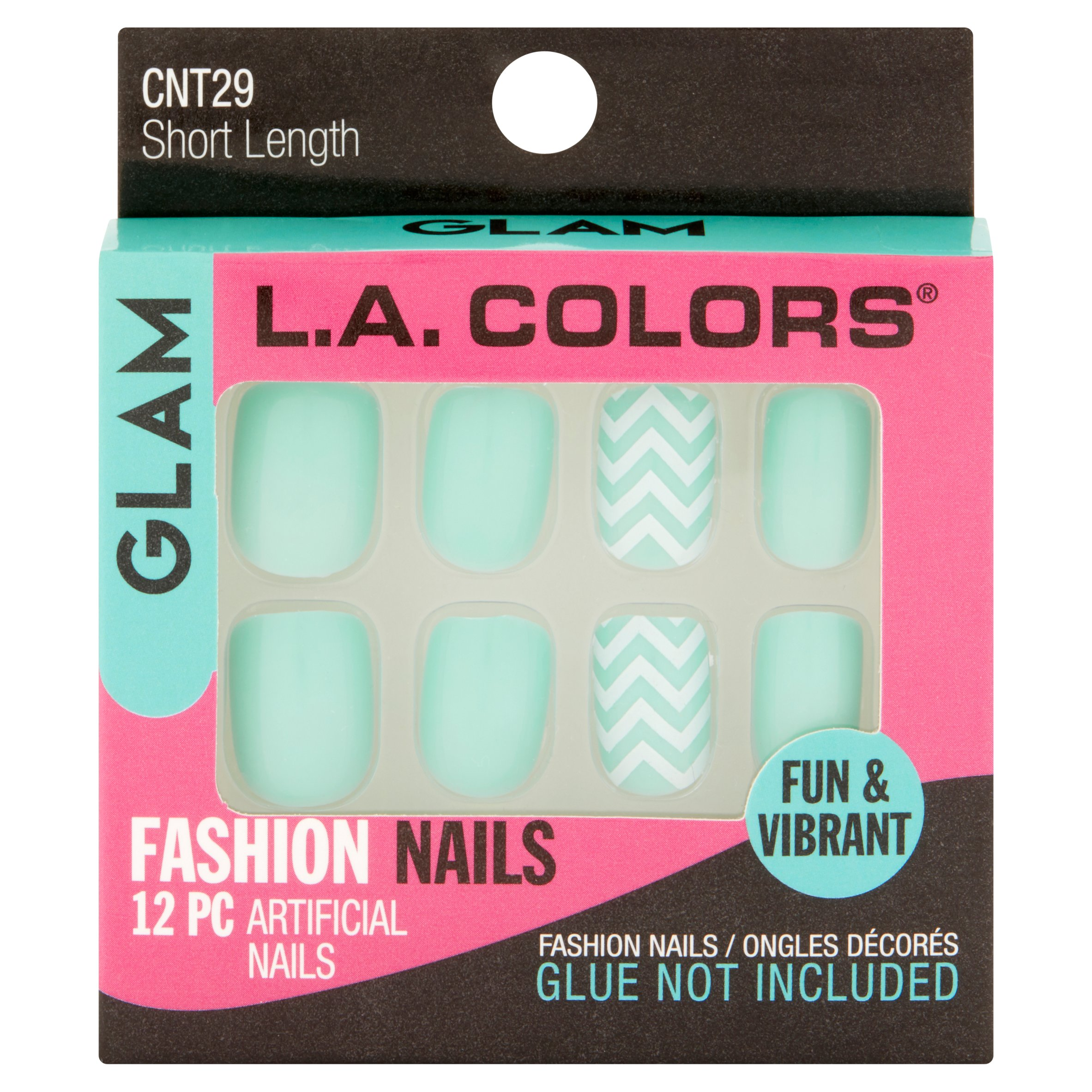 La Colors Fashion Nail Tips - Glam