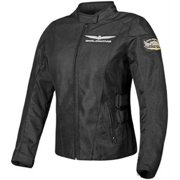 Parker Synergies Gold Wing Touring Womens Mesh Jacket Black