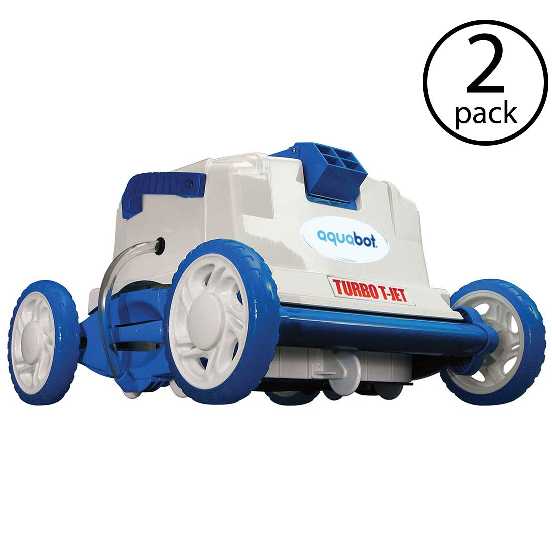 Aquabot Turbo T Jet In-Ground Automatic Robotic Swimming Pool Cleaner (2 Pack)