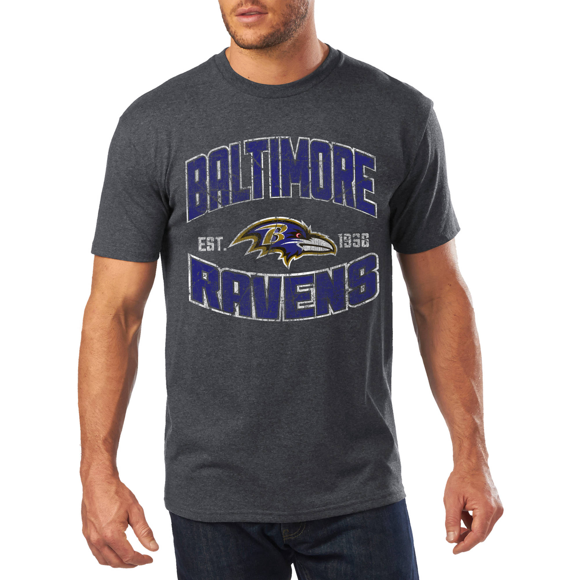 Men's NFL Baltimore Ravens Short Sleeve Tee