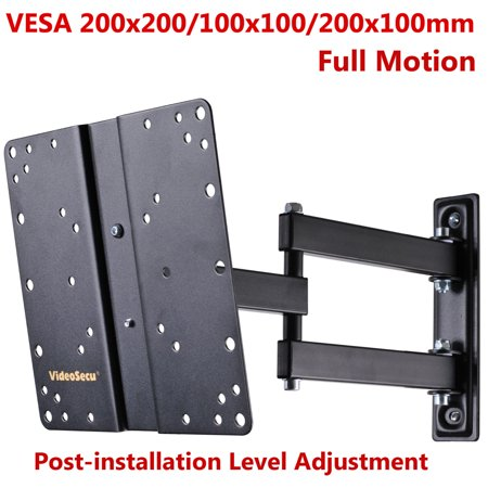 VideoSecu Full Motion TV Monitor Wall Mount for 22″-42″ LG Sony Sansui LCD LED HDTV Articulating Tilt Swivel Bracket B88