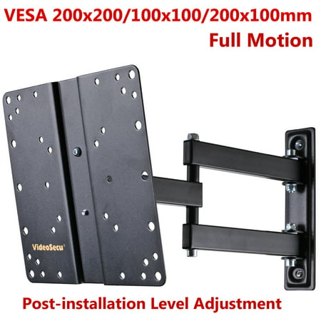 videosecu lcd led tv wall mount with swing out tilt and swivel articulating arm for most 22 40. Black Bedroom Furniture Sets. Home Design Ideas