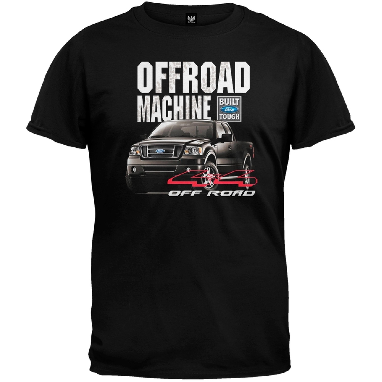 Ford - Offroad F-150 Black Adult T-Shirt