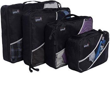 4-Piece Ivation Packing Cubes Travel Organizer Bags