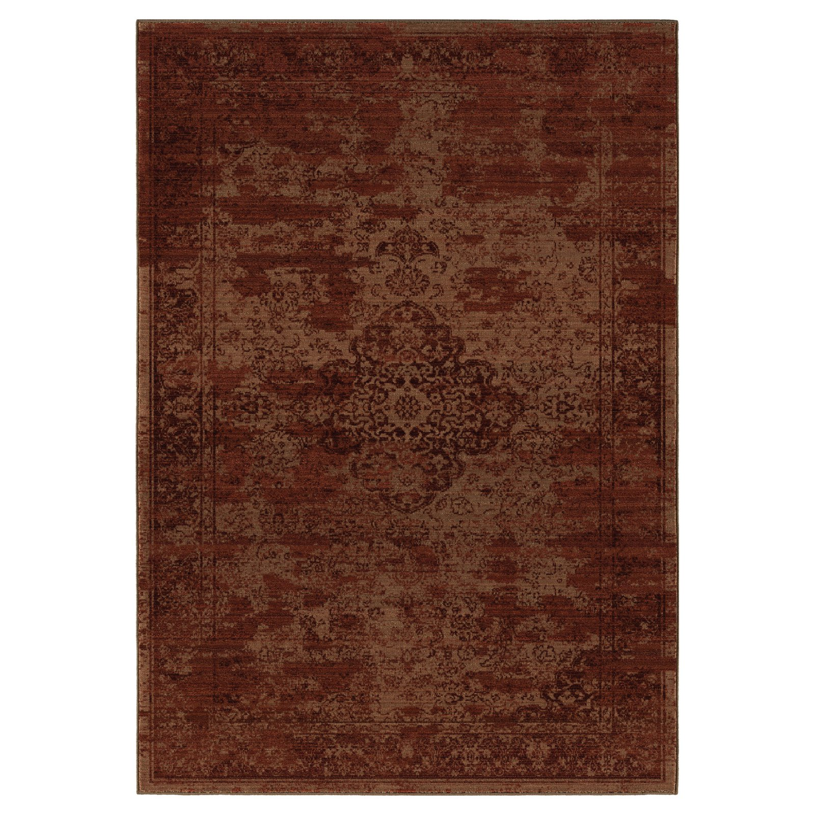 Orian Rugs Faded Damask Traditional Area Rug